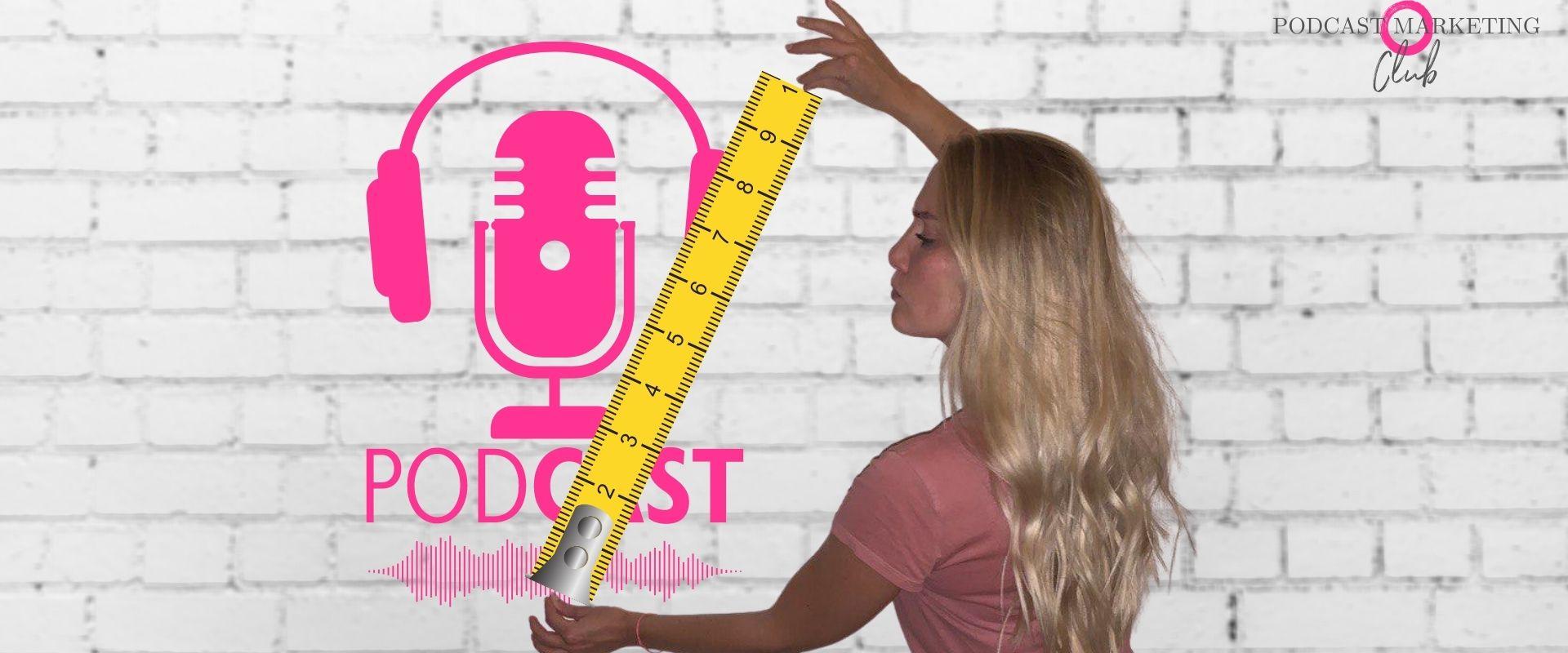 Podcast Reichweitenmessung und Metriken