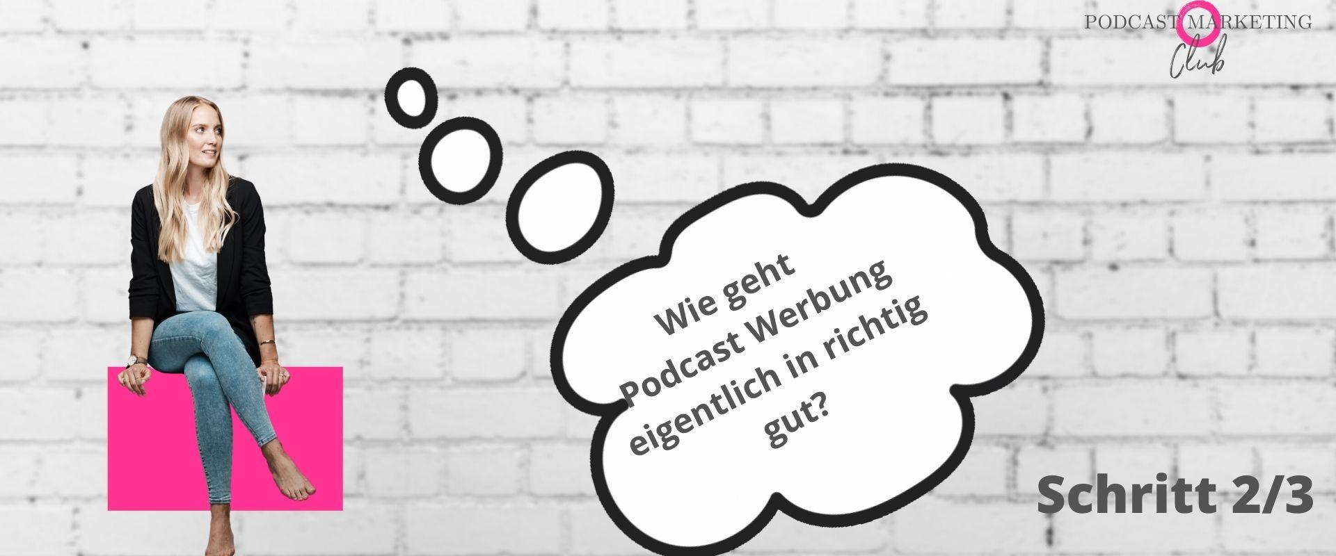 Podcast Werbung schalten 107